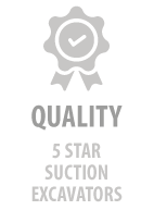 Quality - 5 star suction excavators