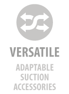 Versatile - adaptable suction accessories